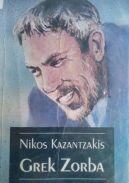Okładka książki - Grek Zorba