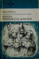Okładka ksiązki - Kolęda. Świerszcz za kominem