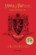 Okładka ksiązki - Harry Potter i kamień filozoficzny (Gryffindor)