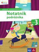 Okładka książki - Notatnik podróżnika kl.3