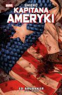 Okładka ksiązki - Śmierć Kapitana Ameryki