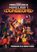 Okładka - Podręcznik gracza Minecraft Dungeons. Poradnik dla bohaterów