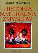 Okładka ksiązki - Historia naturalna zmysłów