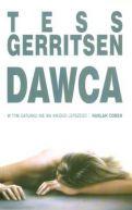 Okładka książki - Dawca