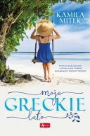 Okładka ksiązki - Moje greckie lato