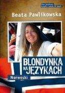 Okładka ksiązki - Blondynka na językach. Norweski