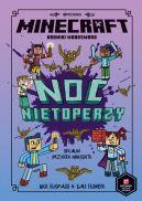 Okładka - Minecraft. Noc nietoperzy