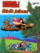 Okładka książki - Kajko i Kokosz. Szkoła latania