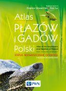 Okładka książki - Atlas płazów i gadów Polski. Status  rozmieszczenie  ochrona z kluczami do oznaczania