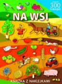 Okładka książki - Na wsi. Ponad 300 naklejek