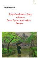 Okładka książki - Liryki miłosne i inne wiersze/Love Lyrics and other Poems