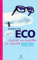 Okładka ksiązki - Zapiski na pudełku od zapałek 1986-1991