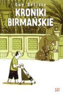 Okładka ksiązki - Kroniki birmańskie