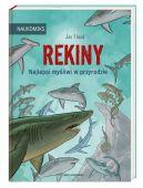 Okładka książki - Rekiny  najlepsi myśliwi w przyrodzie