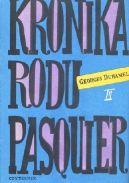 Okładka książki - Kronika Rodu Pasquier III: Pustelnia Bievres  Mistrzowie