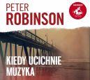 Okładka ksiązki - Kiedy ucichnie muzyka. Audiobook