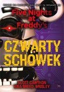 Okładka książki - Czwarty schowek. Five Nights at Freddy's.
