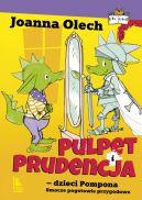 Okładka - Pulpet i Prudencja dzieci Pompona. Smocze pogotowie przygodowe