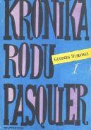 Okładka ksiązki - Kronika Rodu Pasquier I: Notariusz z Hawru  Ogród dzikich zwierząt