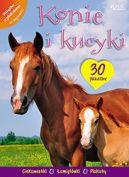 Okładka książki - Konie i kucyki. Książa z plakatami