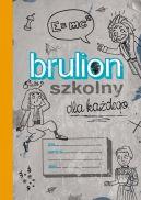 Okładka ksiązki - Brulion szkolny dla każdego