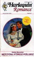Okładka ksiązki - Mężczyzna, którego poślubisz