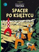 Okładka ksiązki - Przygody Tintina. Tom 17. Spacer po Księżycu