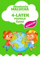 Okładka - Akademia malucha. 4-latek poznaje świat