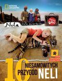 Okładka - 10 niesamowitych przygód Neli. Wydanie II, uzupełnione o kody QR