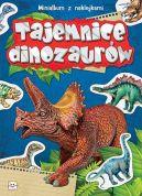 Okładka książki - Tajemnice dinozaurów. Minialbum z naklejkami