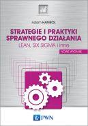 Okładka - Strategie i praktyki sprawnego działania LEAN, SIX SIGMA i inne