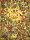 Okładka - Atlas legend. Tom 1