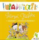 Okładka książki - Poradniczek Gabrysi i Kajtka. Zabawy i podróżowanie