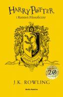 Okładka ksiązki - Harry Potter i kamień filozoficzny (Hufflepuff)