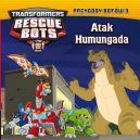 Okładka - Transformers. Rescue Bots (#3). Atak Humungada t.3