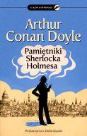 Okładka ksiązki - Pamiętniki Sherlocka Holmesa