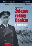 Okładka ksiązki - Żelazne rekiny Dönitza