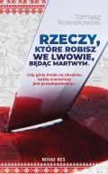 Okładka - Rzeczy, które robisz we Lwowie, będąc martwym