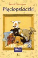 Okładka książki - Pięciopsiaczki