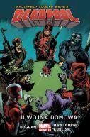 Okładka - Deadpool  II wojna domowa, tom 5