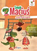 Okładka ksiązki - Smok Maciuś poznaje nowych przyjaciół