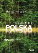 Okładka - Bucket list Polska. 365 nieoczywistych miejsc