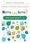 Okładka - Rama czy lama? Różnicowanie głosek R  L