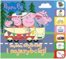Okładka -  Peppa Pig. Książka z registrami. Szybko, szybciej, najszybciej!