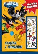 Okładka ksiązki - Super Przyjaciele DC. Książka z tatuażami