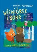 Okładka ksiązki - Wiewiórek i Bóbr. Przygody leśnych detektywów