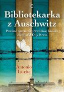 Okładka książki - Bibliotekarka z Auschwitz
