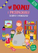 Okładka ksiązki -  Zgaduj i naklejaj - W domu i w przedszkolu