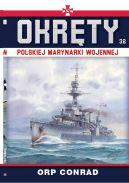 Okładka - Okręty Polskiej Marynarki Wojennej t.32. ORP CONRAD