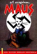Okładka ksiązki - Maus. Mój ojciec krwawi historią